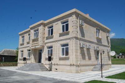 Oğuzda yeni inzibati binanın açılışı olub - FOTOSESSİYA