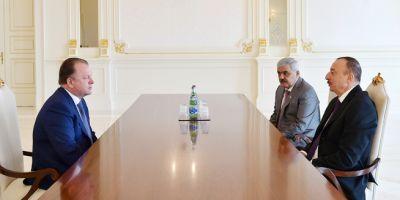 Ильхам Алиев принял президента Международной федерации дзюдо