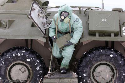 На российской базе в Армении испытывают химические разведмашины
