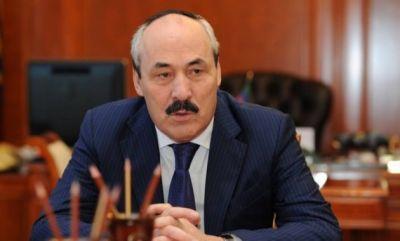 Глава Дагестана прибыл в Баку