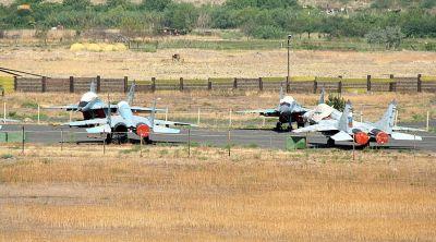 На российской авиабазе в Армении начались совместные летные тактические учения