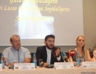 """В отеле """"Excelsior Hotel Baku"""" состоялась пресс-конференция, посвященная открытию """"Baku Fashion Week""""."""