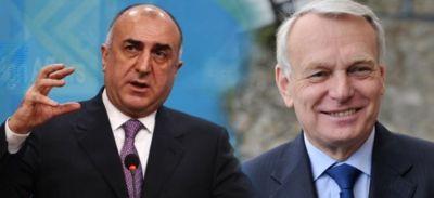 Мамедъяров и Эро обсудят Карабах во Франции