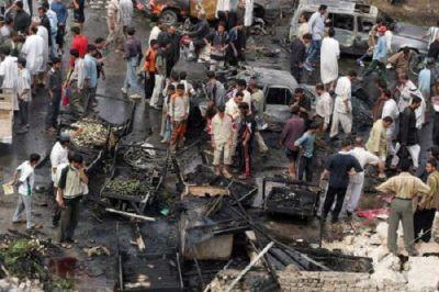 Серия взрывов в Багдаде: Погибли десятки людей