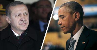 Между Обамой и Эрдоганом произошел телефонный разговор