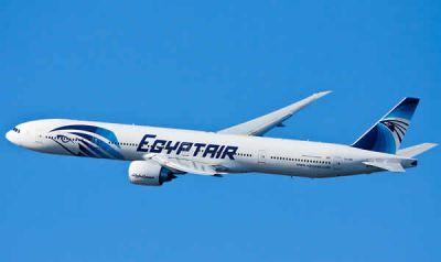 У упавшего в море самолета EgyptAir загорелся туалет