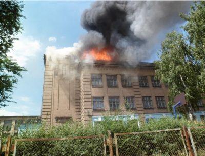 Пожар в Бакинской школе ОБНОВЛЕНО