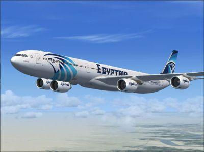 На борту лайнера EgyptAir был взрыв