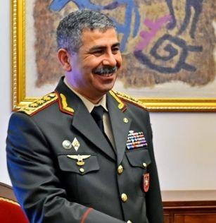 Министр обороны Азербайджана в Испании