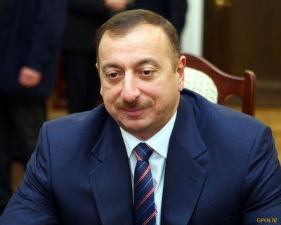 Ильхам Алиев принял Ванино Кити