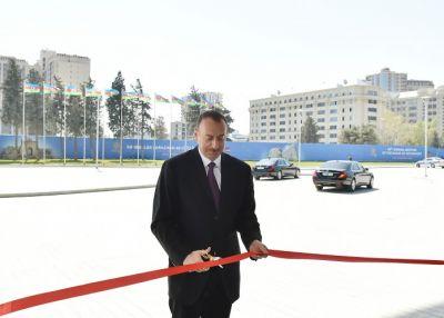 Prezident SOCAR-ın yeni binasının açılışında