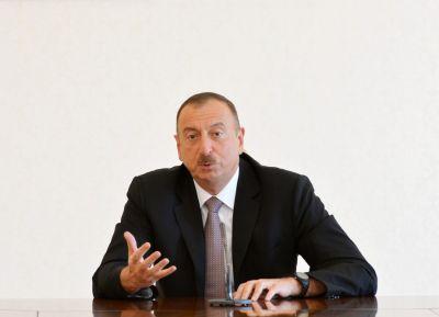 Ильхам Алиев: «Генштаб России заявил, что Армения просит приостановить боевые действия»