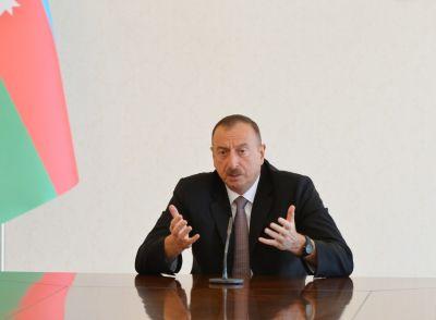 Президент Ильхам Алиев: «Решение Бундестага – политический заказ»