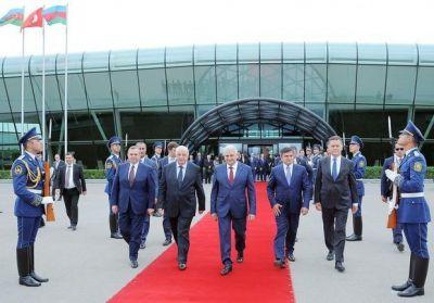 Завершился визит премьера Турции Йылдырыма в Азербайджан