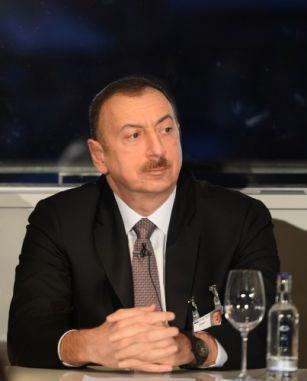 Президент Азербайджана в Германии