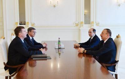 Ильхам Алиев принял министра юстиции России