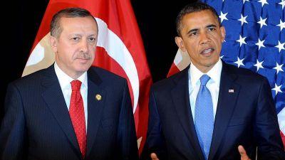Эрдоган недоволен взаимоотношениями с Обамой и Путиным