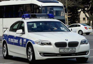 Полиция Баку перешла на усиленный режим
