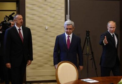 Петербургский саммит по Карабаху: Саргсян поблагодарил Путина