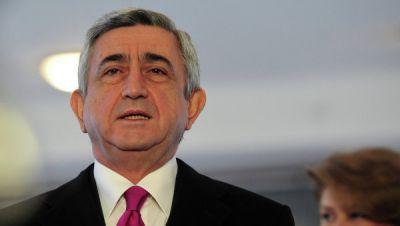 Саргсян уволил начальника главного управления разведки СНБ Армении