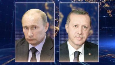 Завтра состоится телефонный разговор Путина и Эрдогана