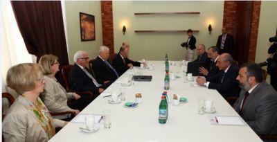 МИД прокомментировал встречу Штайнмайера с лидером карабахских сепаратистов