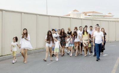 Лейла Алиева встретилась с лишенными родительской опеки детьми