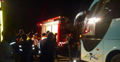 В Иране перевернулся туристический автобус, есть погибшие