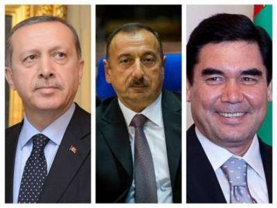 Президенты Азербайджана, Турции и Туркменистана встретятся до конца года