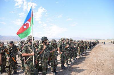 Азербайджанские военнослужащие отправились в Германию