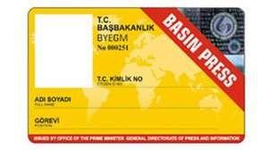 """Türkiyədə 330 jurnalistin """"sarı kart""""ı ləğv edildi"""