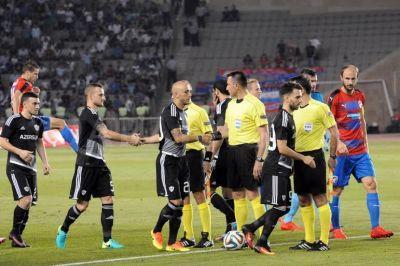 """""""Qarabağ"""" - """"Viktoriya"""" matçı FOTOLARDA"""
