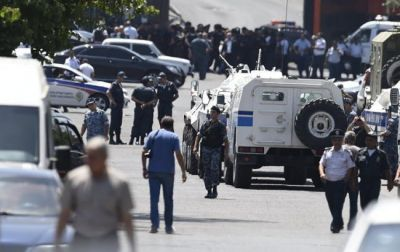 Арестованы еще несколько участников захвата полицейского участка в Ереване