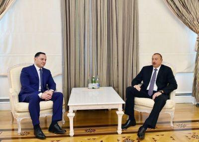 Ильхам Алиев принял главу Службы госбезопасности Грузии