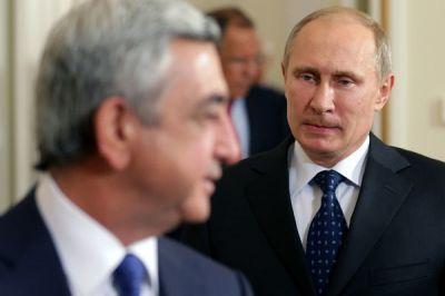 Саргсян летит в Москву