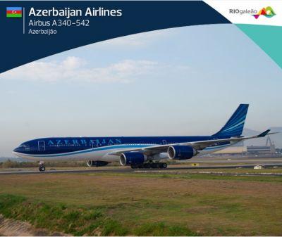 Самолет AZAL побил новый рекорд в истории аэропорта Рио-де-Жанейро