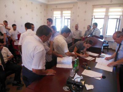 Ağcabədi rayonunda imzatoplama prosesinə start verildi