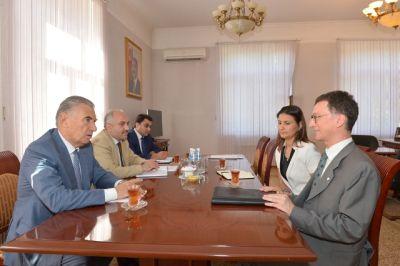 Əli Həsənov BMT nümayəndəsi ilə görüşüb