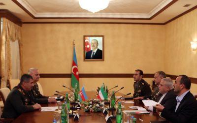 Закир Гасанов встретился с послом Ирана в Азербайджане