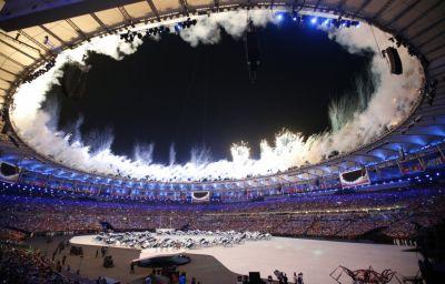 Rio-2016: Olimpiadanın təntənəli açılış mərasimi olub