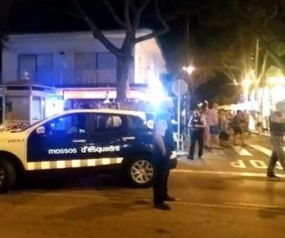 """İspaniyada """"terror zarafatı"""" 11 yaralı"""