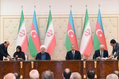 Azərbaycan-İran sənədləri imzalanıb