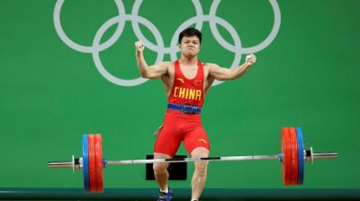Çinli ağır atlet olimpiya çempionu olub