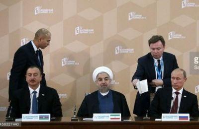 Триумвират в Баку: зачем встречаются Путин, Алиев и Рухани?