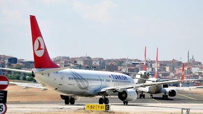 Atatürk Hava limanı eniş və çıxışa açıqdır
