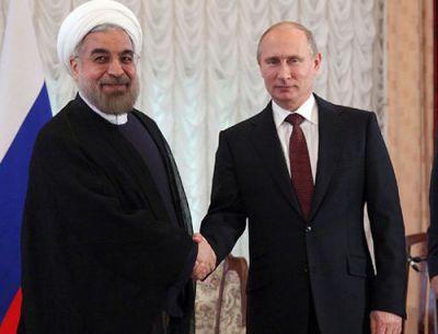 Состоялась встреча Путина с Роухани в Баку