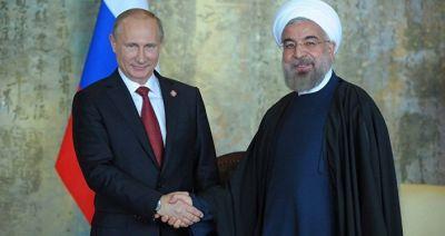 Rusiya prezidenti Bakıda iranlı həmkarı ilə görüşdü