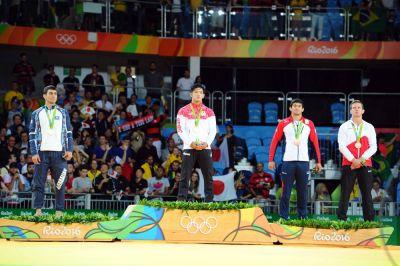 """Azərbaycan yığmasının """"Rio-2016""""da ilk medalı"""