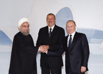 Обнародована декларация, подписанная президентами Азербайджана, Ирана и России