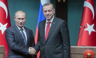 Путин: визит Эрдогана говорит о возобновлении диалога